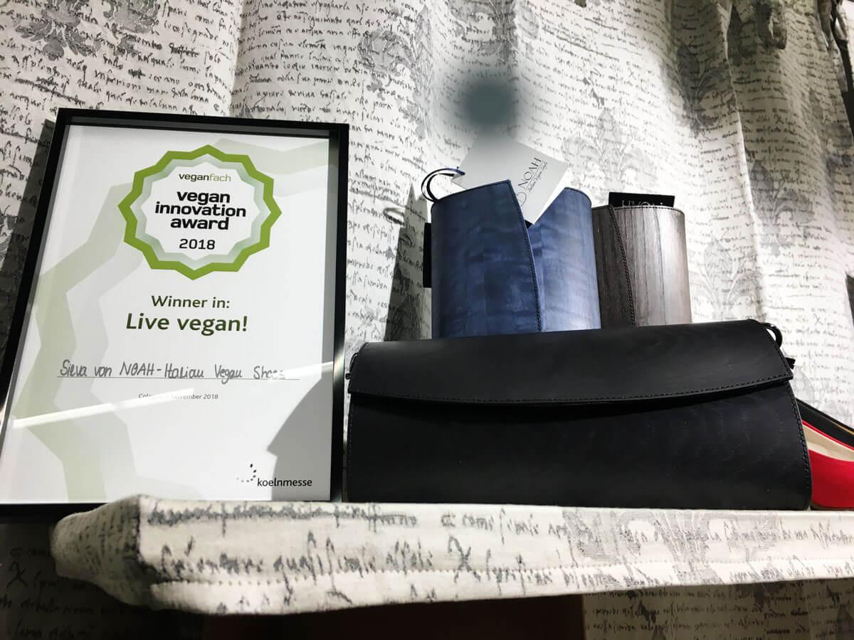 Noah Italian Vegan Shoes Auszeichnung