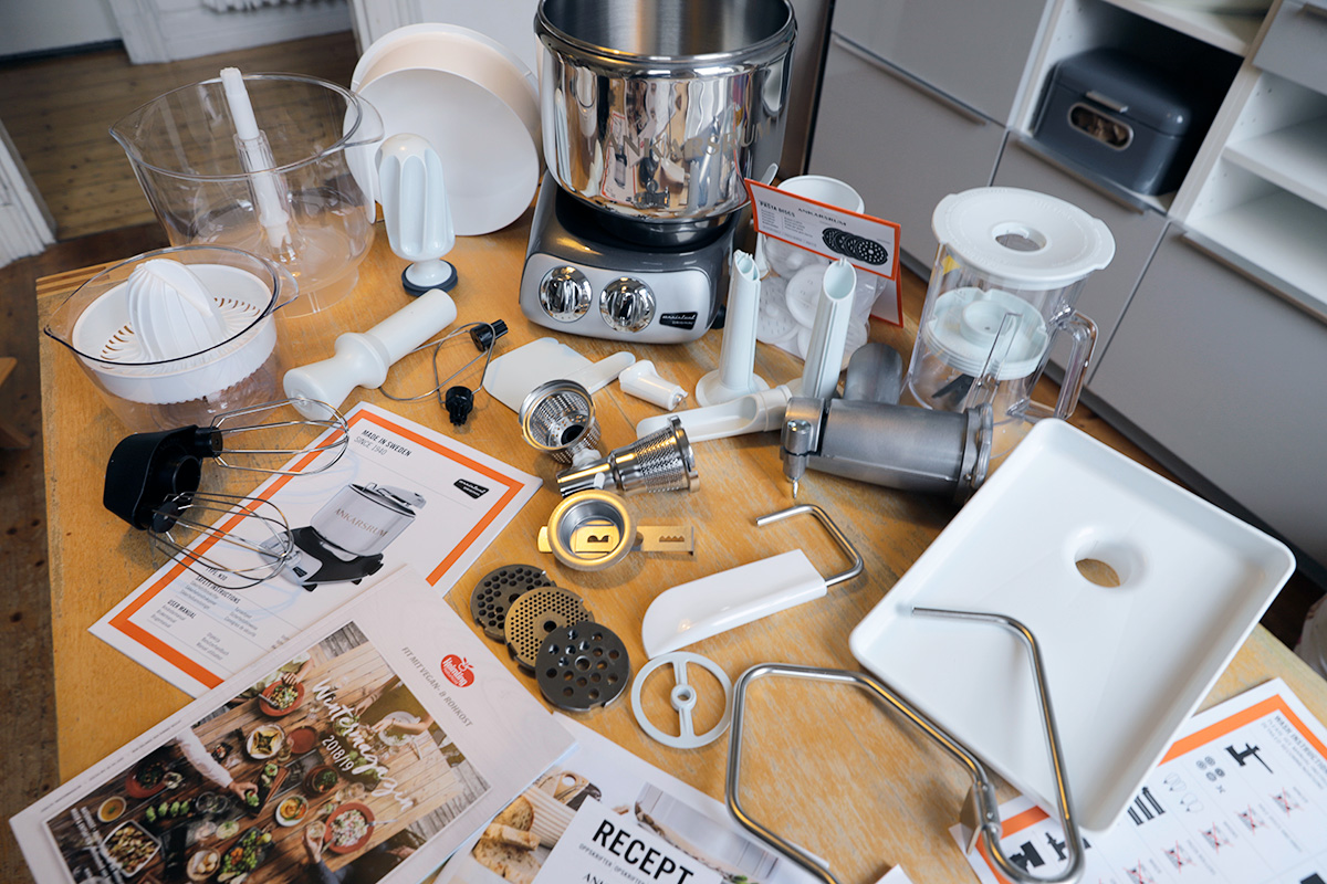 Ankarsrum Küchenmaschine Lieferumfang