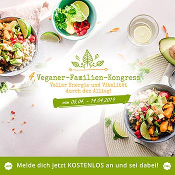 Anmeldung veganer Familienkongress