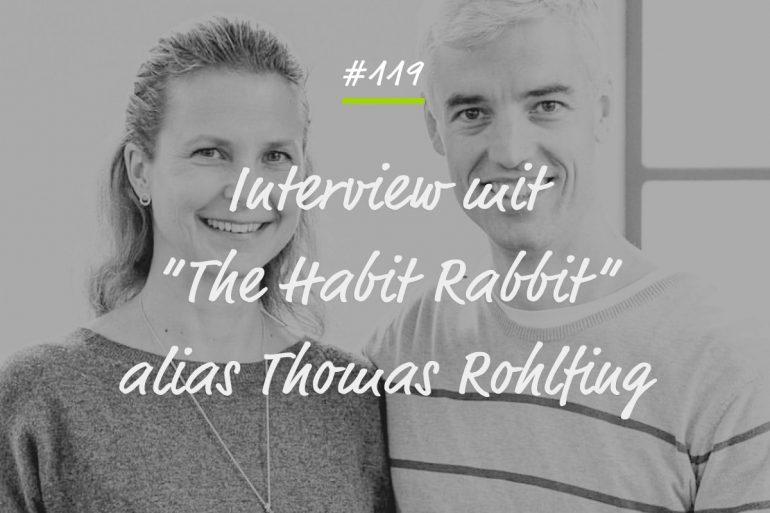 Podcastfolge The Habit Rabbit
